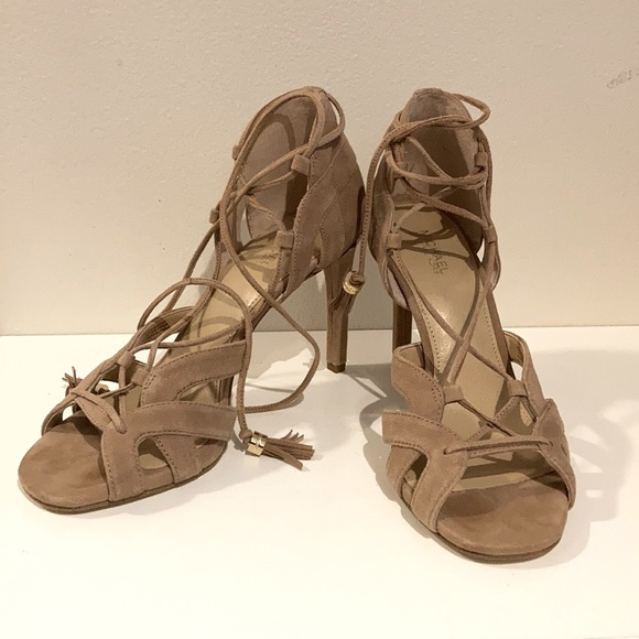 Michael Kors Mirabel Suede Sandals